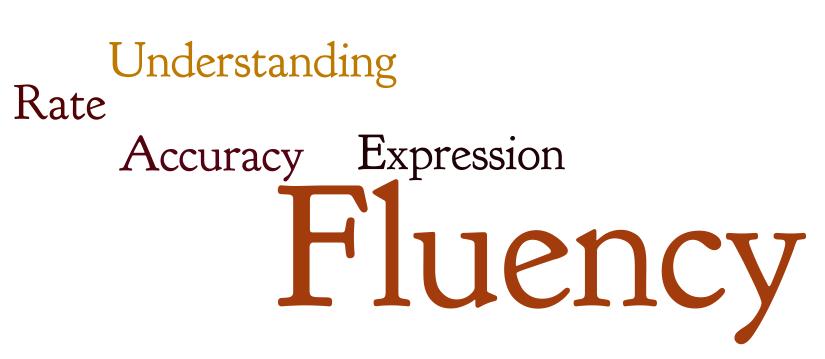 fluency vs accuracy